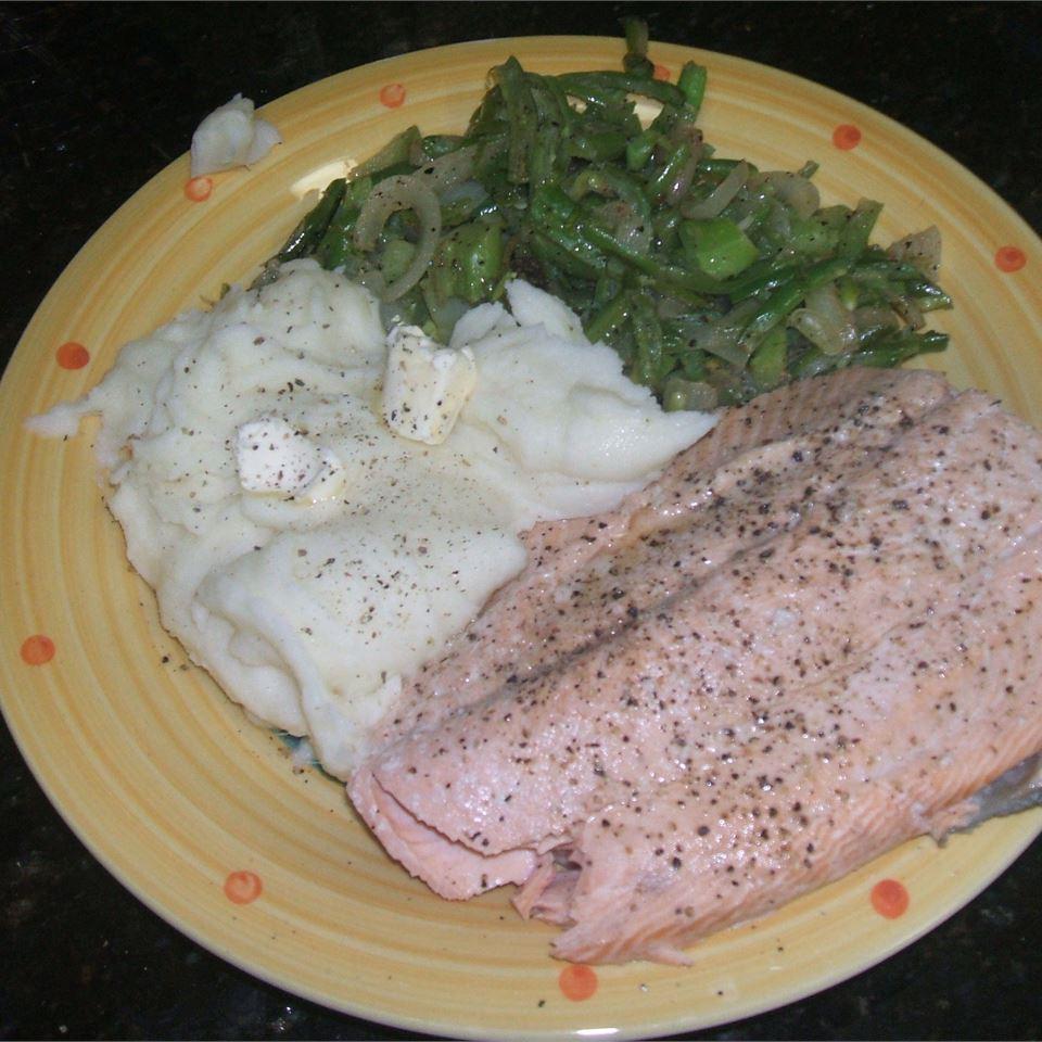 Dill Poached Salmon twampz