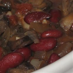Portobello Mushroom Chili McBacon