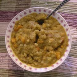 Vegan Split Pea Soup I Extra Foamy
