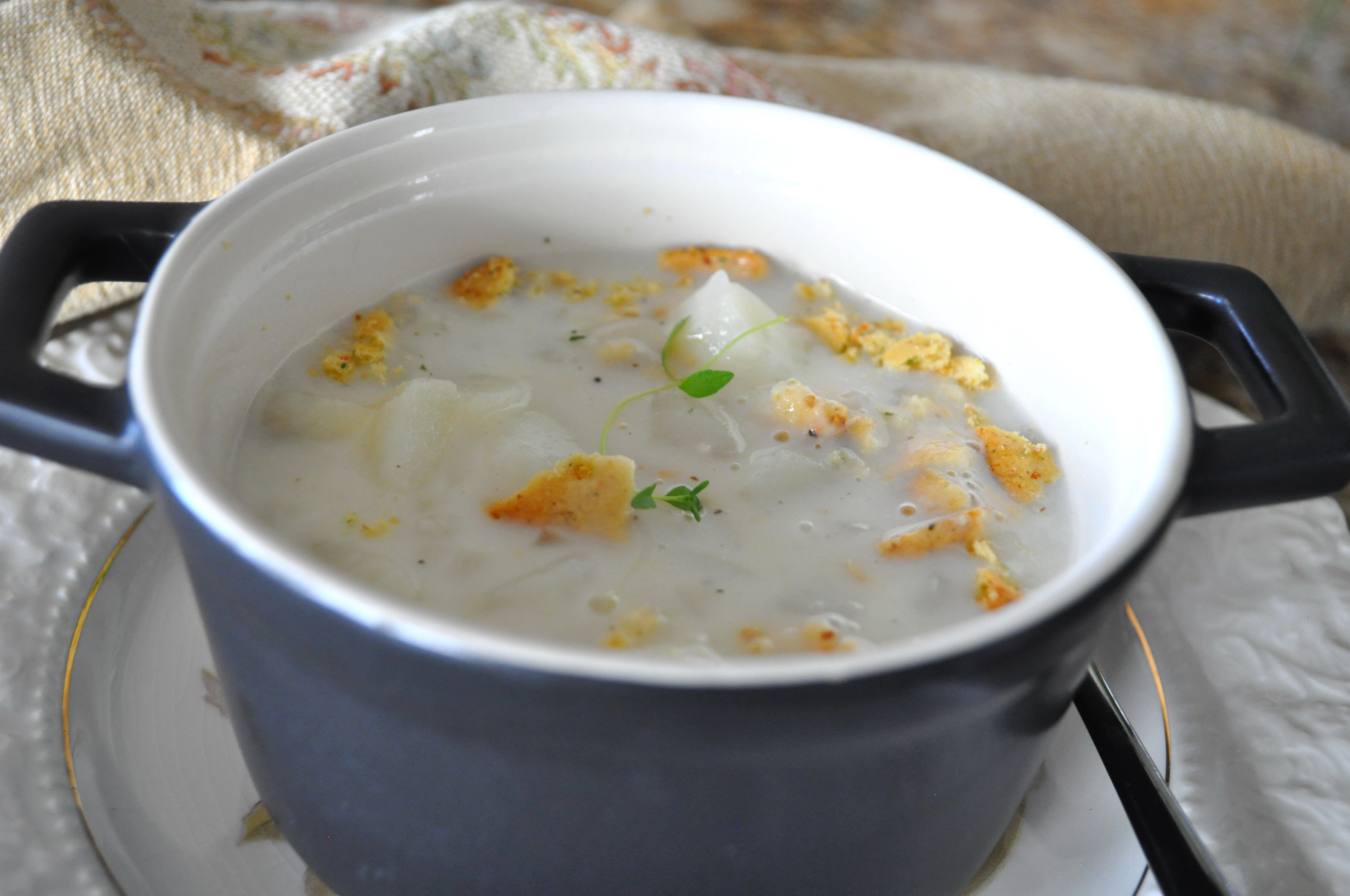 Snow Days Potato Soup