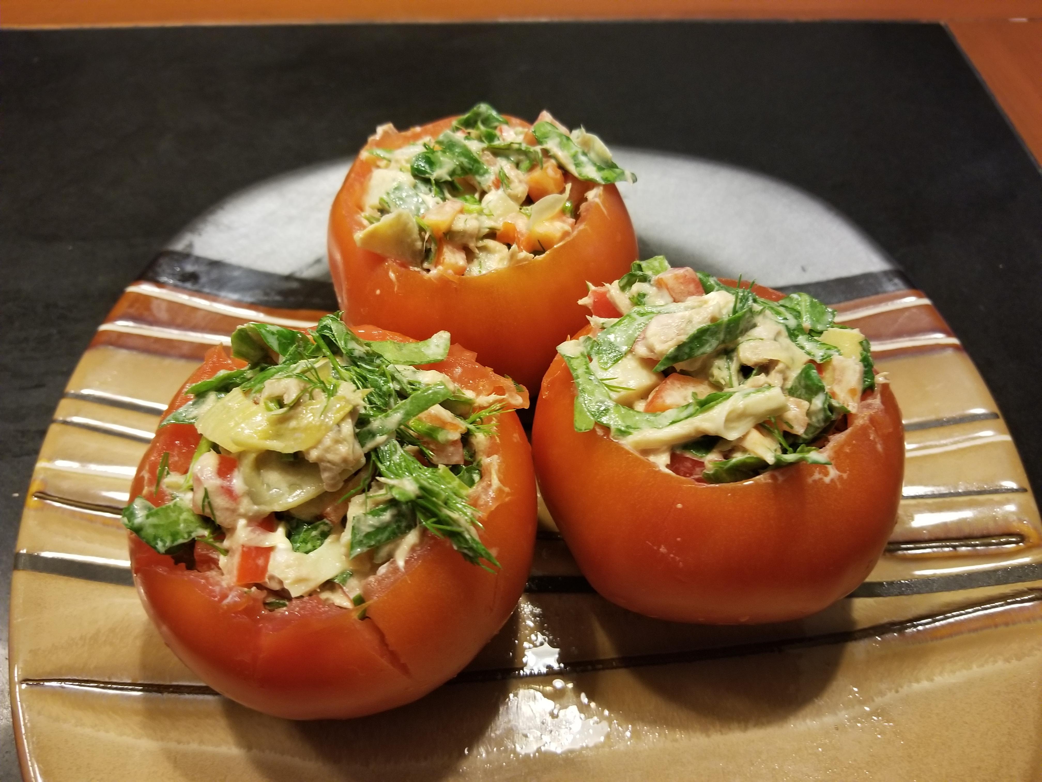 Tuna-Artichoke Salad Ajust