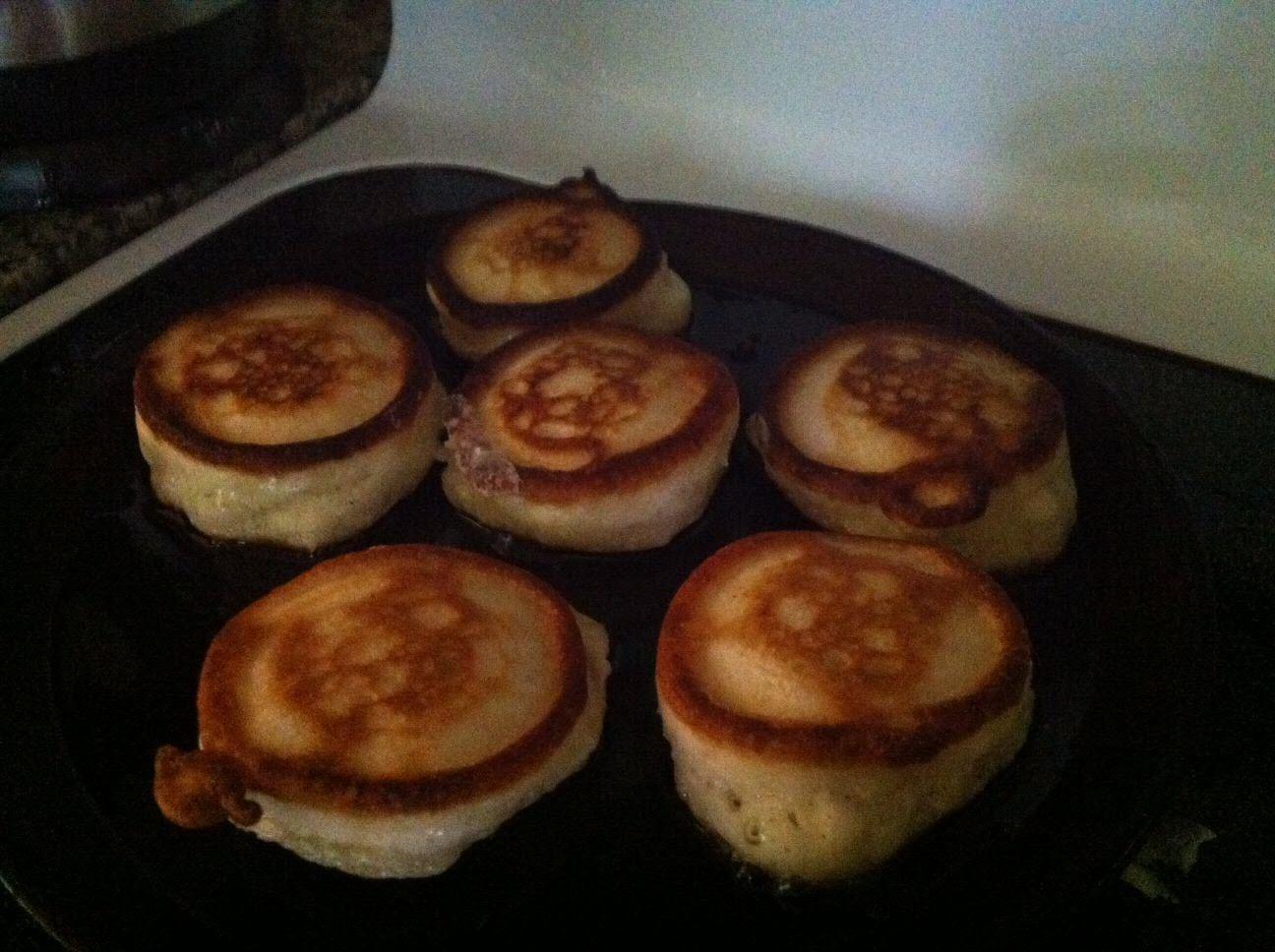 Russian Kefir Pancakes (Oladi) AllrecipesPhoto