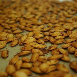 Crispy, Crunchy Pumpkin Seeds