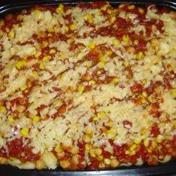 Southwestern Vegetarian Pasta Dana