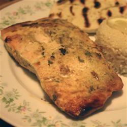 Yogurt-Marinated Salmon Fillets (Dahi Machhali Masaledar) ChristineM