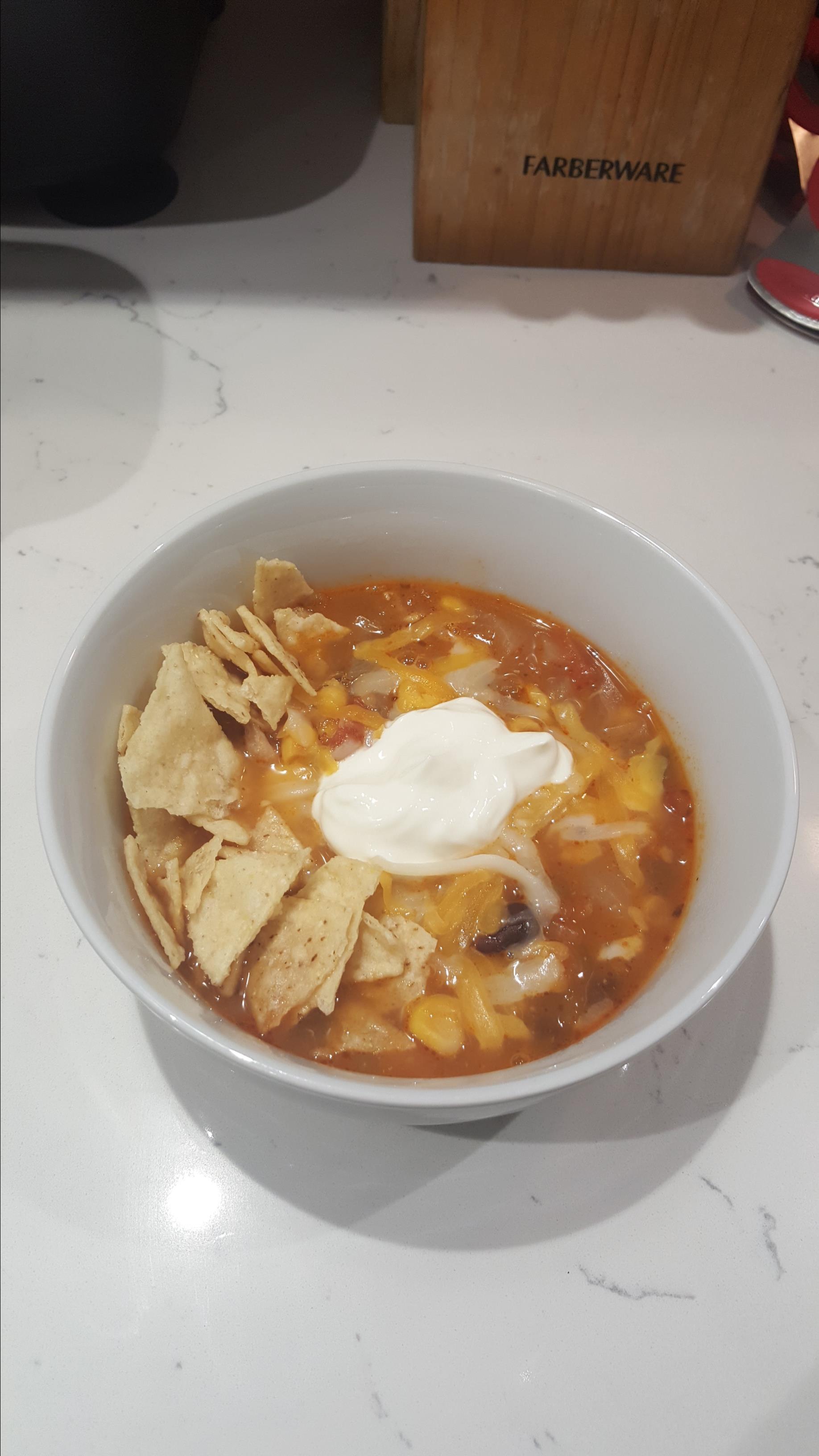 Chicken Tortilla Soup V cjsheff13