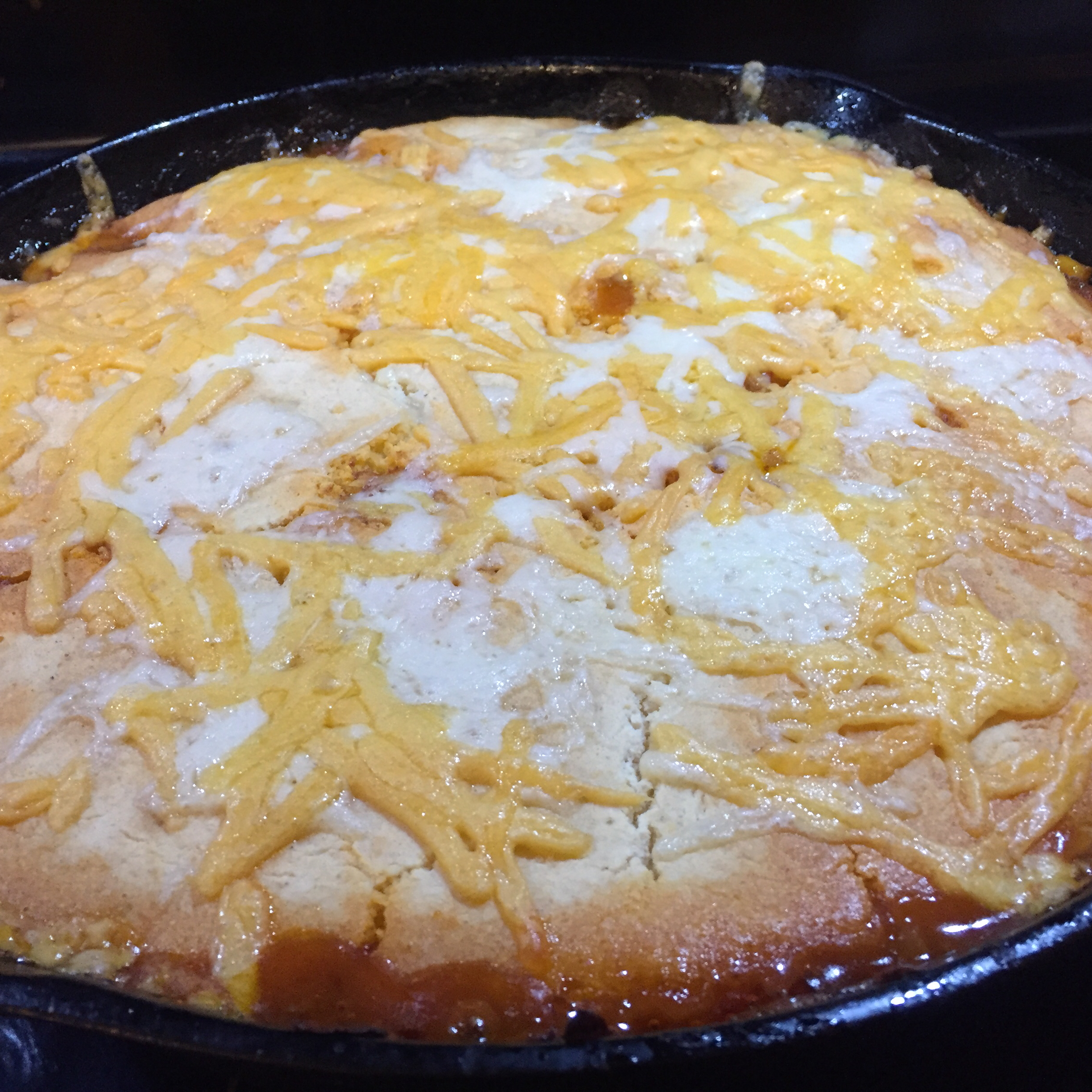 One-Pan Tamale Pie