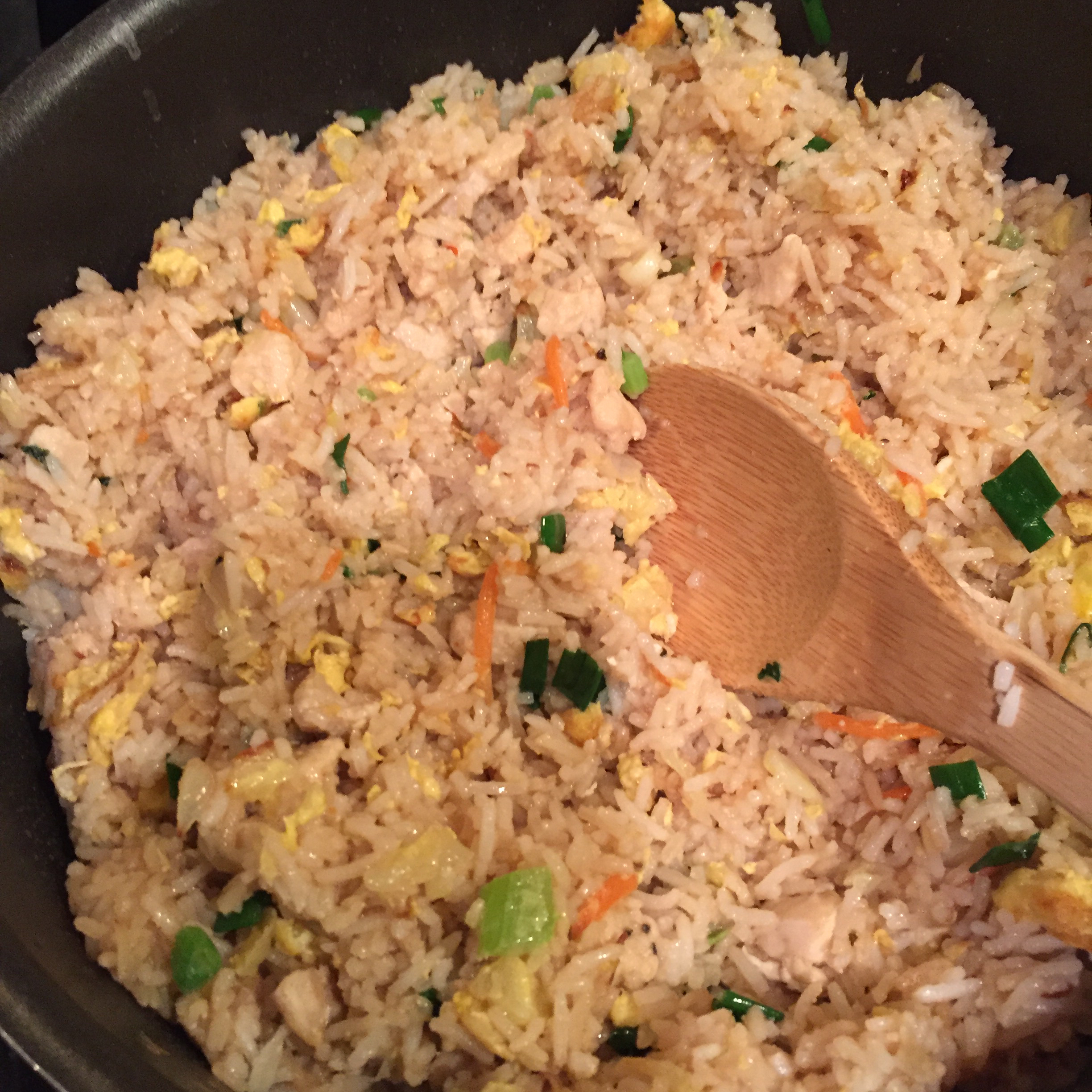 Egg and Vegetable Fried Rice Deb Schmidt Moser