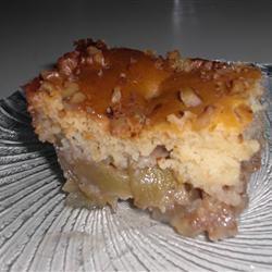 Canadian Honey Apple Walnut Cobbler Tasneem