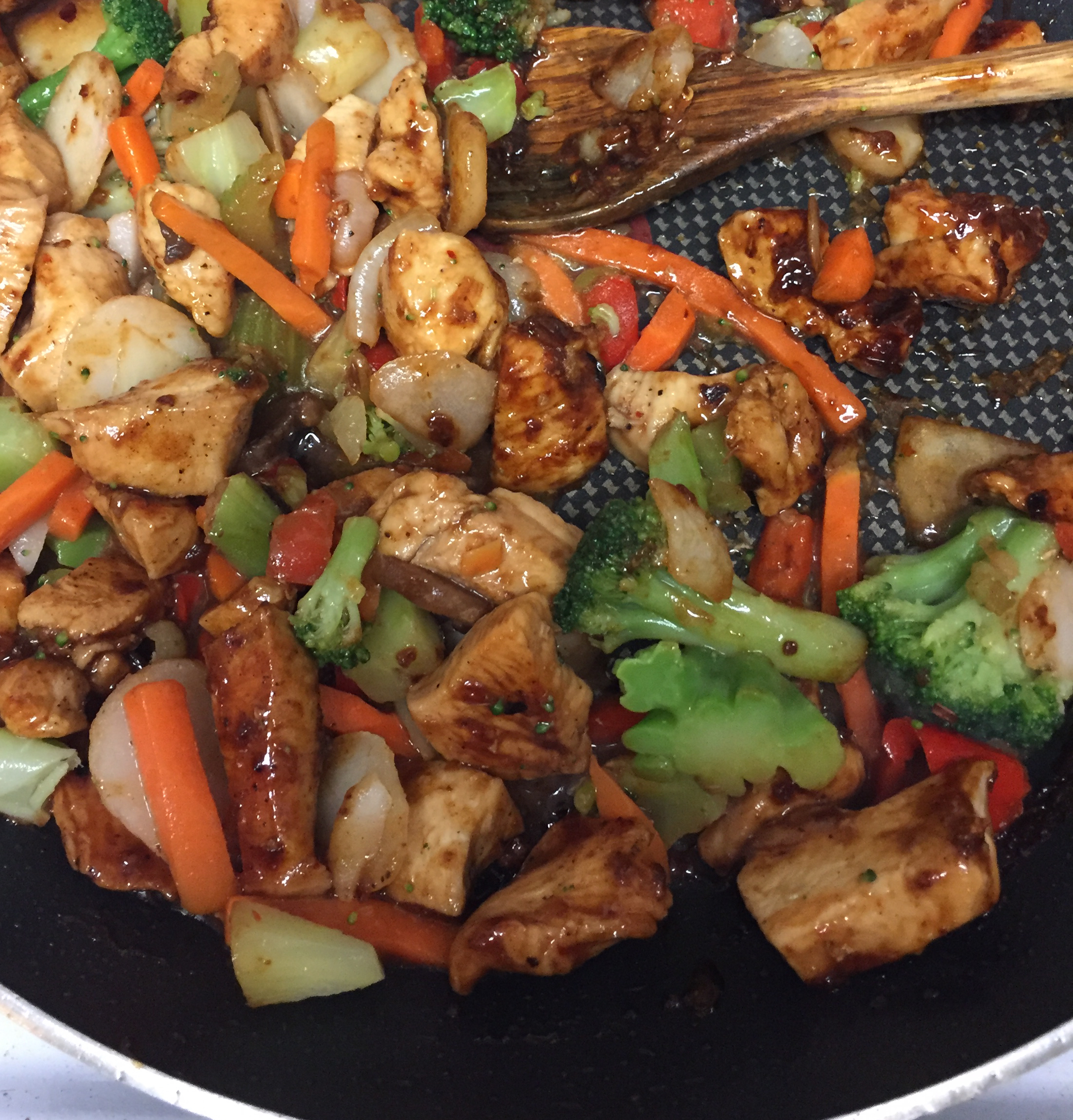 Sweet and Spicy Stir Fry with Chicken and Broccoli Tarah Luke