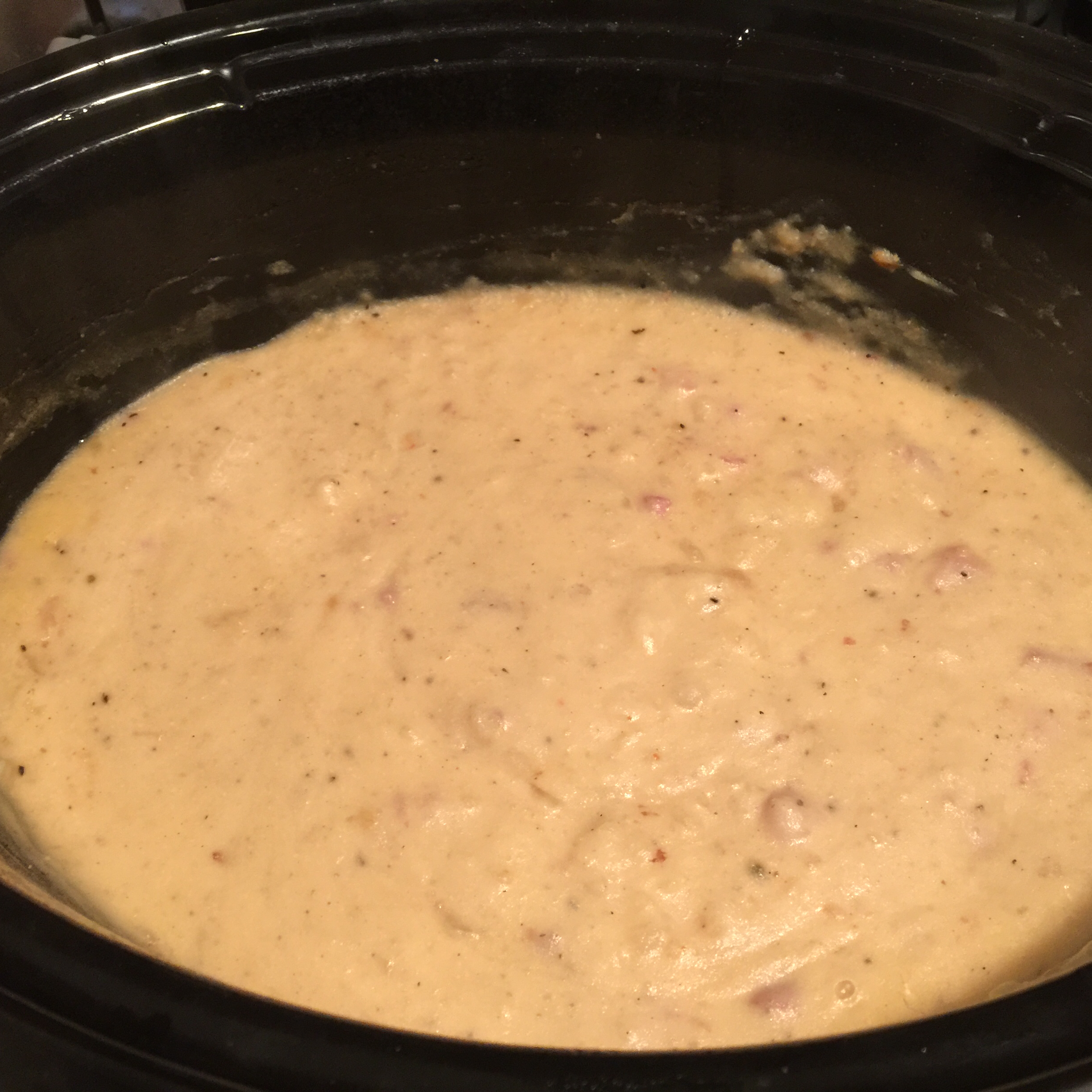 Creamy Slow Cooker Potato Soup