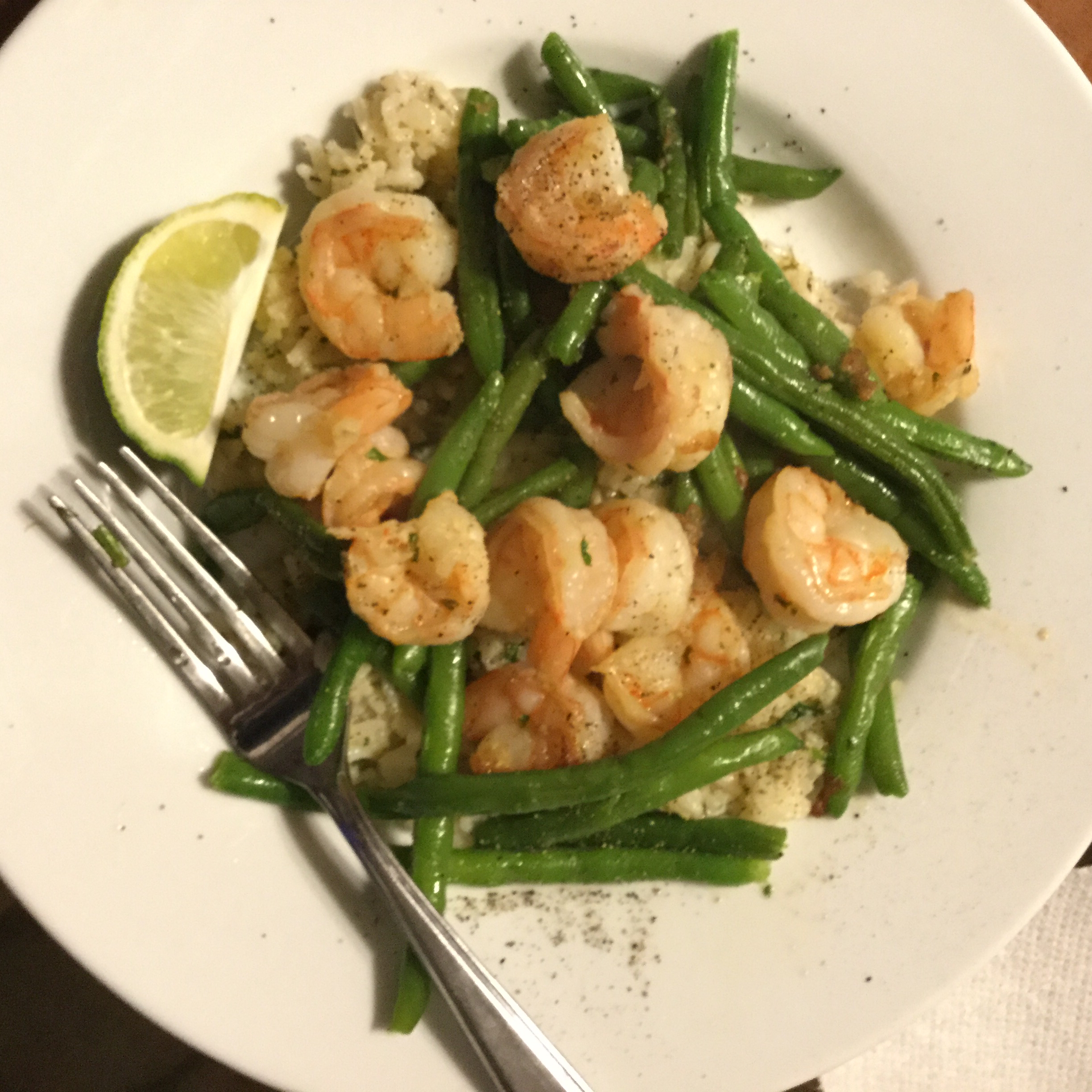 Shrimp Scampi Over Rice from Knorr® Jeff Lane