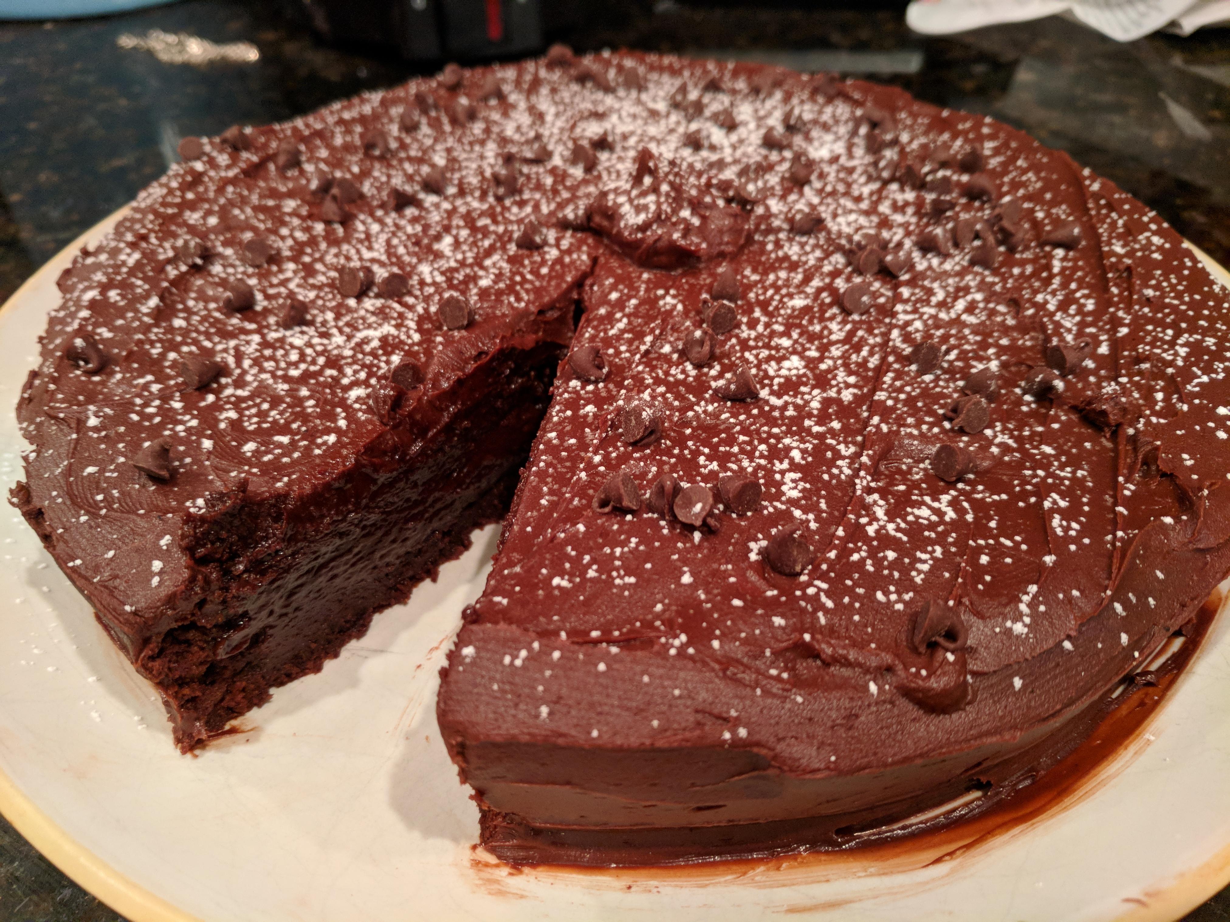 Chef John's Chocolate Decadence swerblin