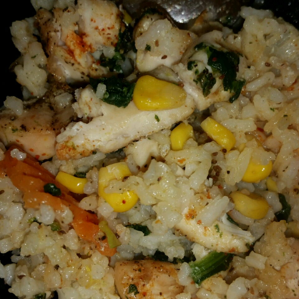 Chicken with Wild Rice and Vegetables Casserole Tracy