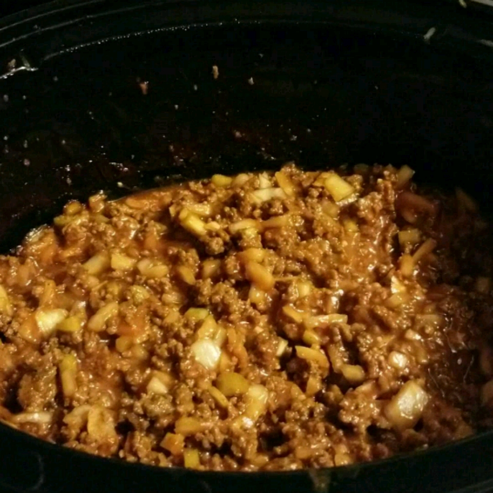 Slow Cooker Ground Beef Barbecue Crystal Purvis