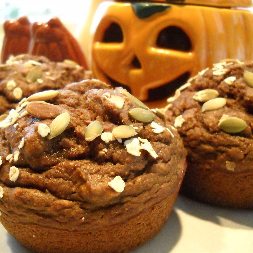 Spiced Pumpkin Molasses Muffins N Morski