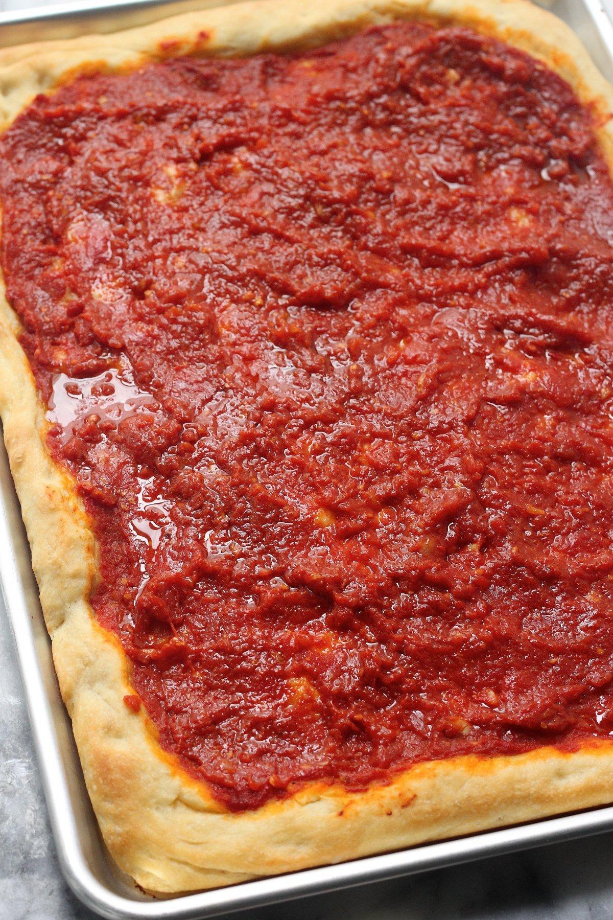 Italian Tomato Pie