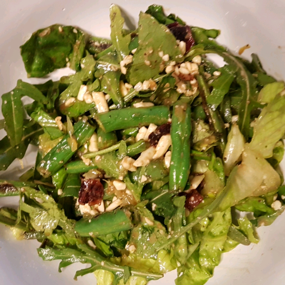 Feta and Slow-Roasted Tomato Salad with French Green Beans Mercedes Meza