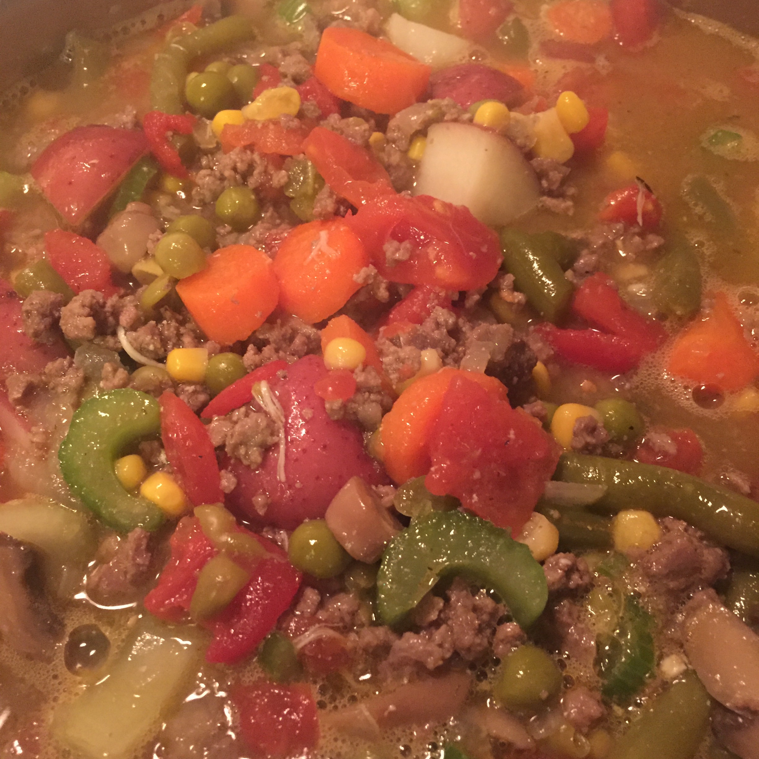 Ground Beef Vegetable Soup Jenna Marie