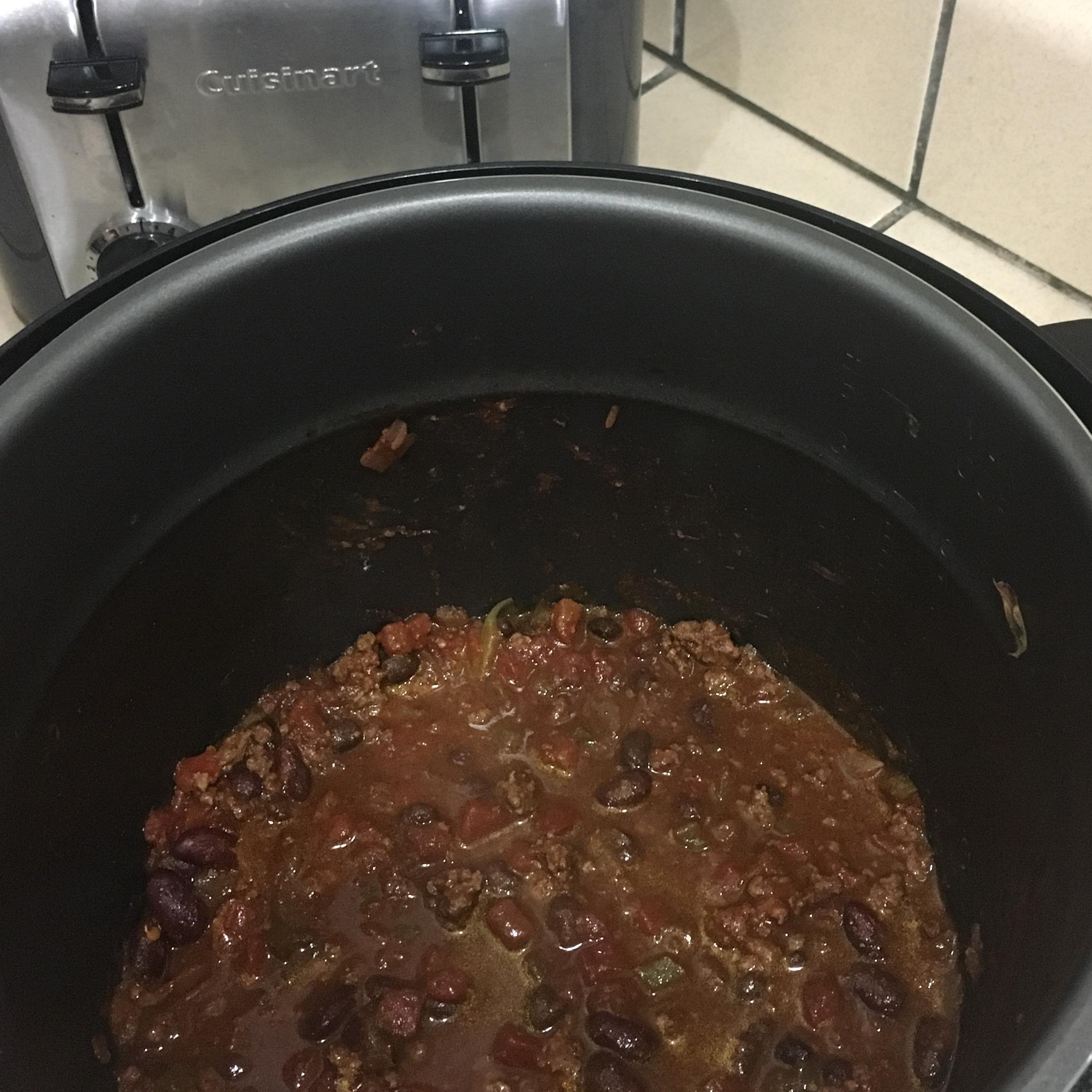 Pressure Cooker Chili Shannon Barnhill Gartin