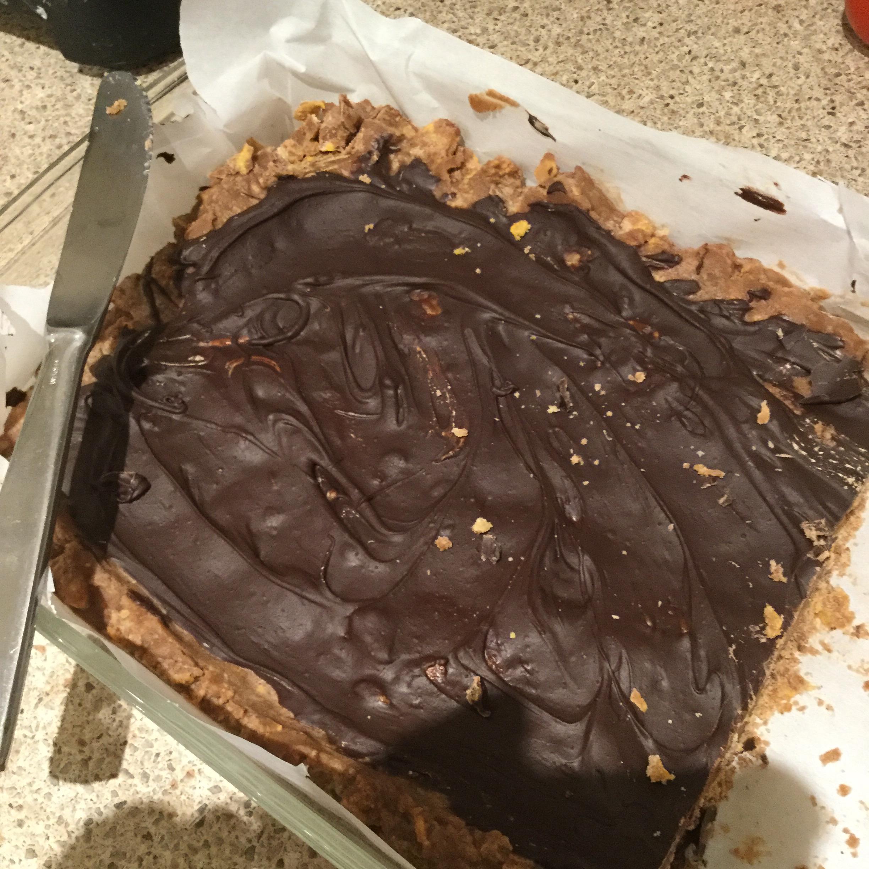 Chocolate Peanut Butter Bars II