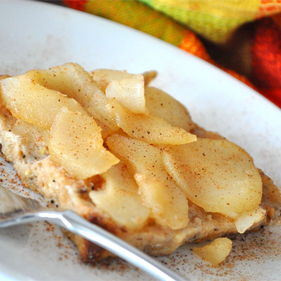 Made-Over French Toast with Spiced Pears