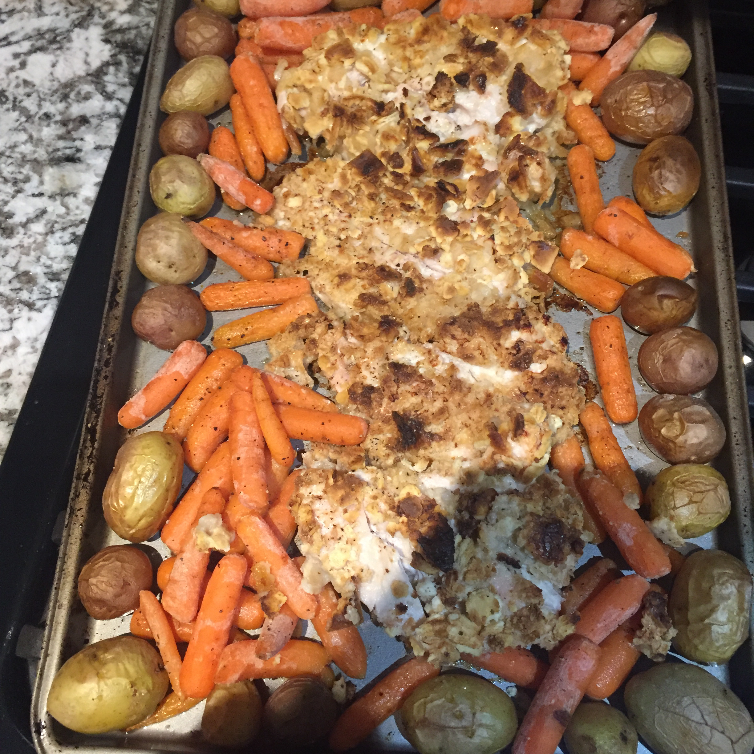 Sheet Pan Dinner with Chicken and Veggies jj6065