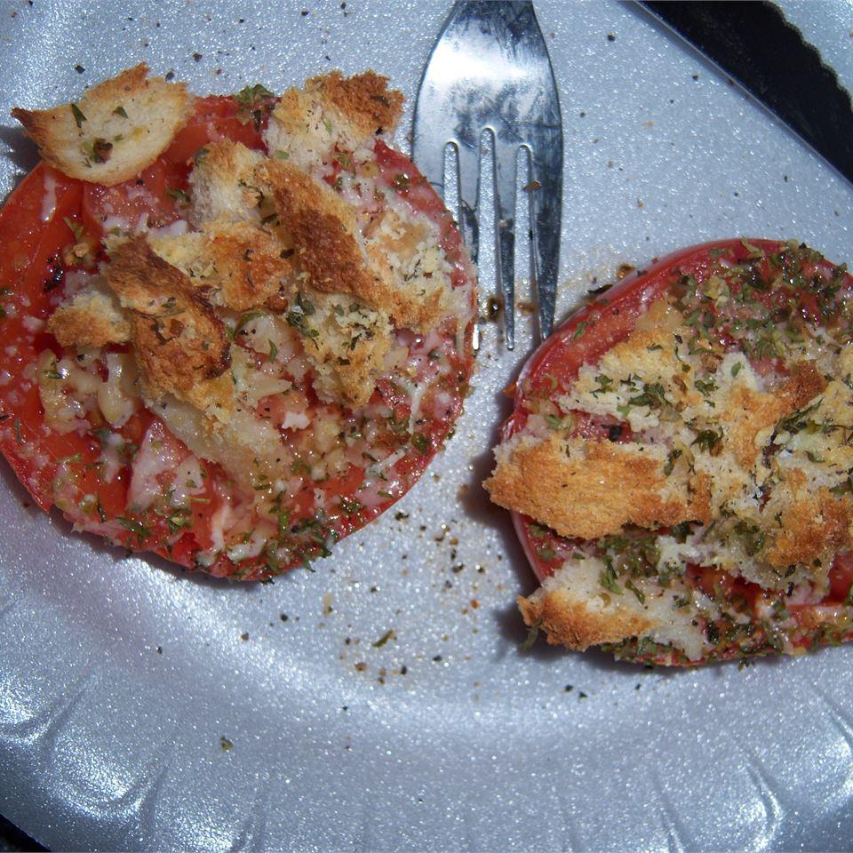 Baked Tomatoes Oregano