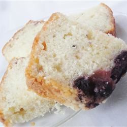 Blueberry Lemon Quick Bread larkspur