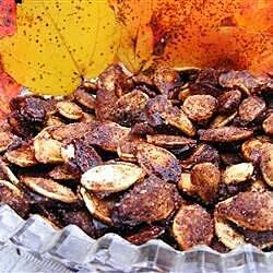 sweet pumpkin seeds recipe