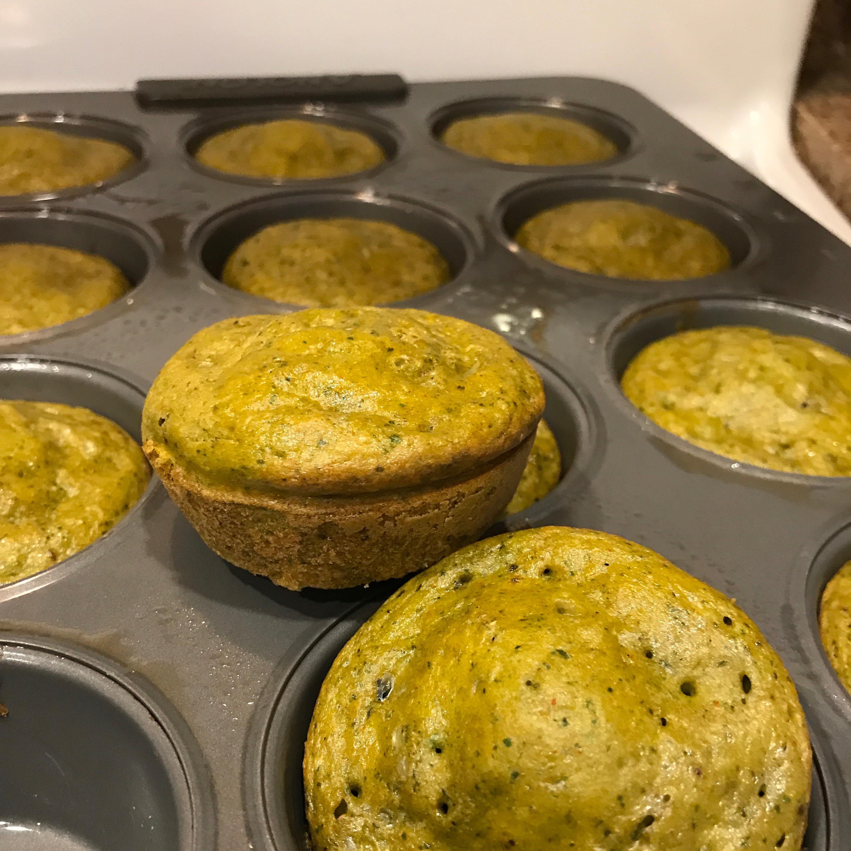 Breakfast Chickpea Spinach Muffins Kathryn Lee
