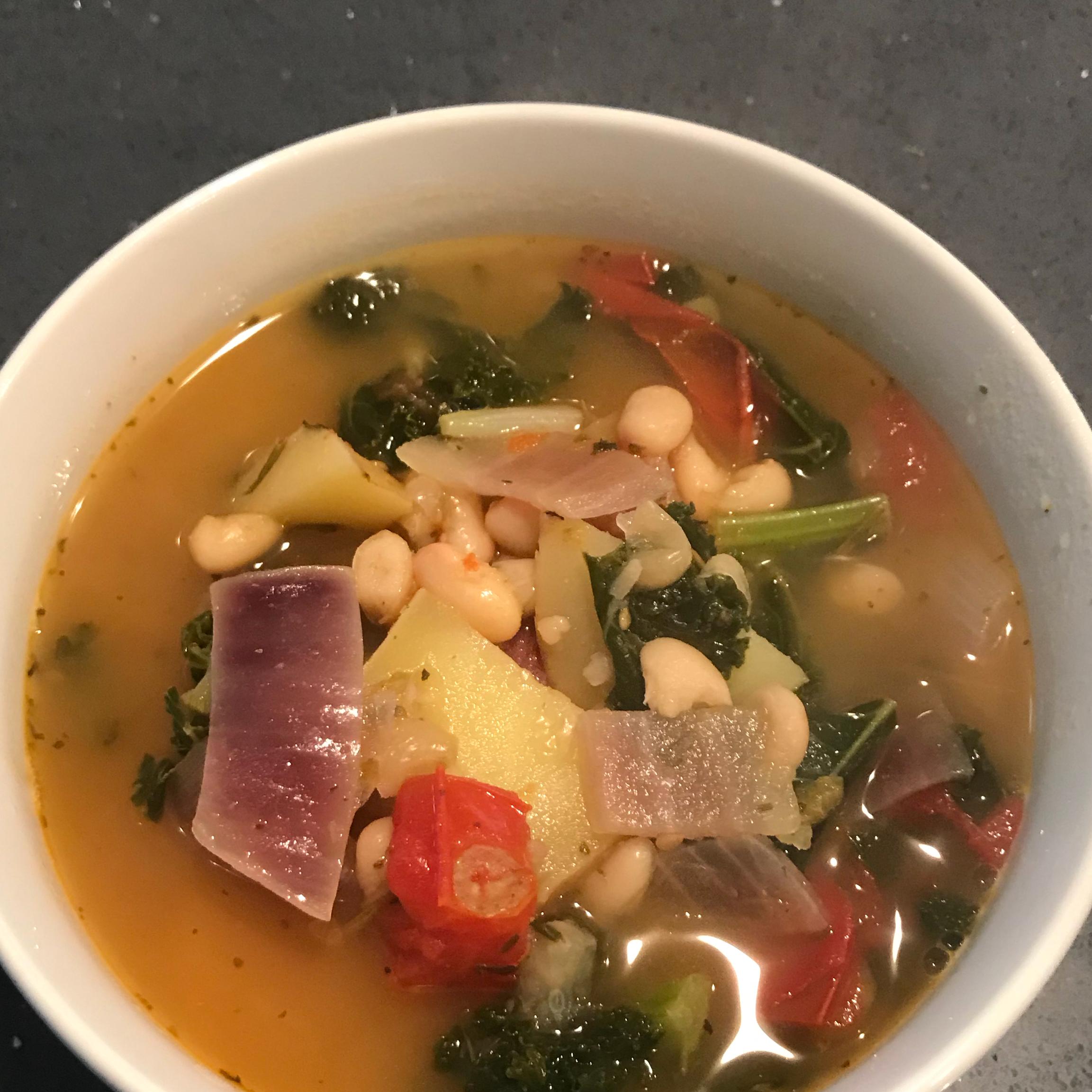Vegetarian Kale Soup DLProcter