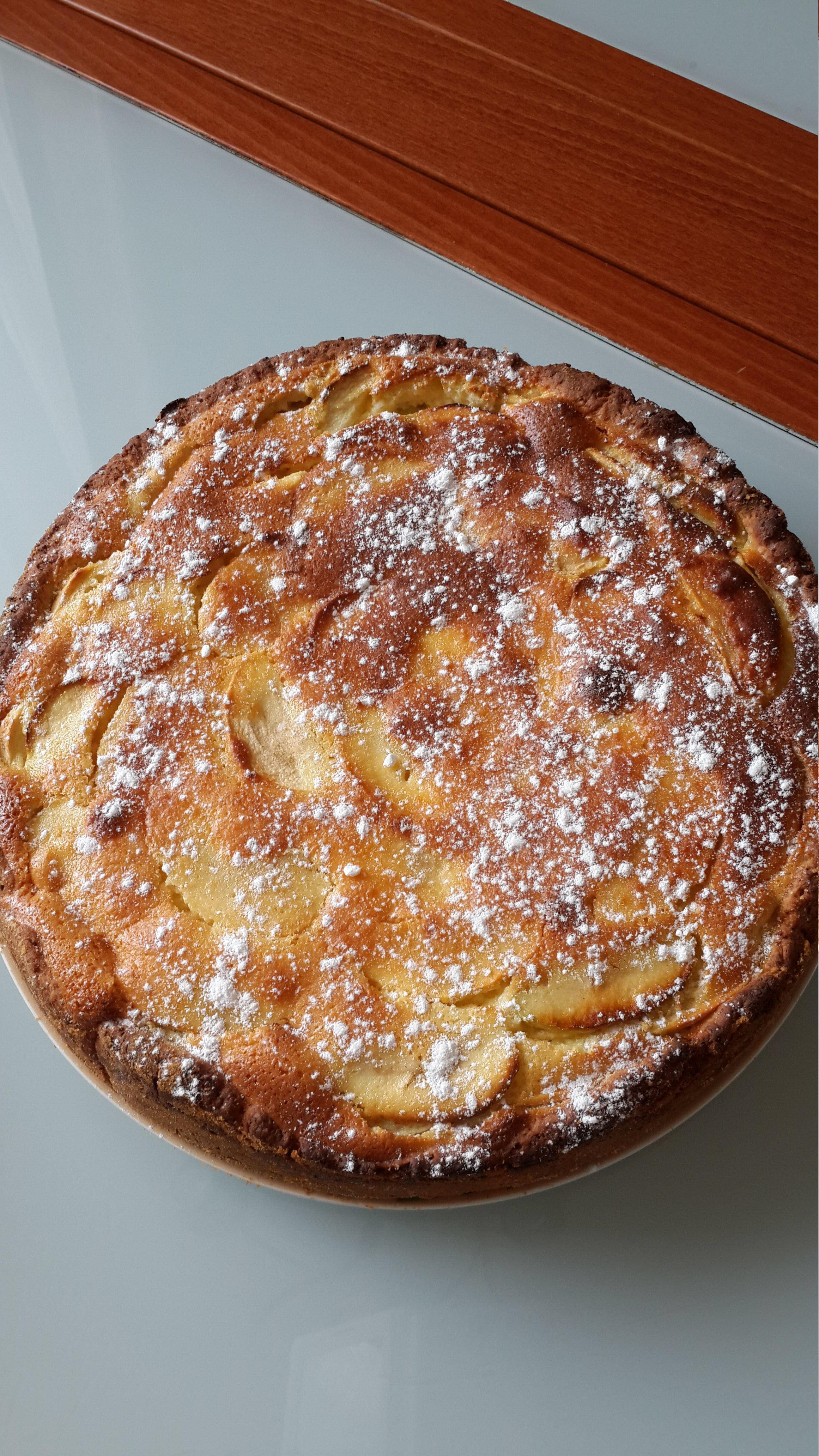 Russian Apple Cake AllrecipesPhoto