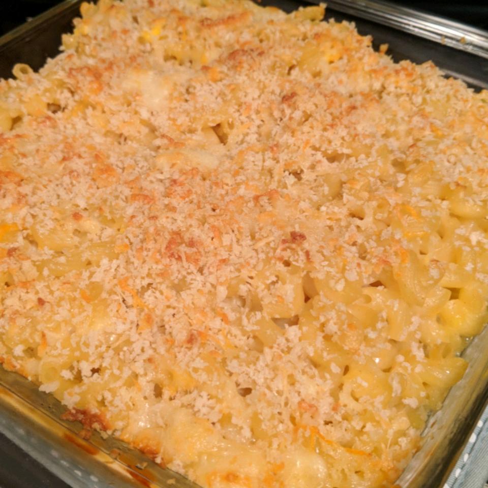 Healthier Four Cheese Macaroni Sara Mason