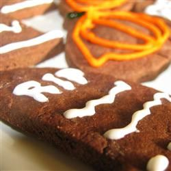 Chocolate Cut Out Cookies