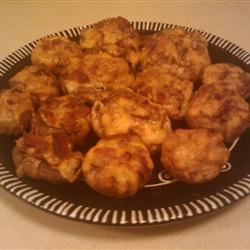 Bacon and Cheddar Stuffed Mushrooms