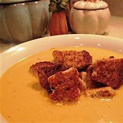 cream of pumpkin soup recipe