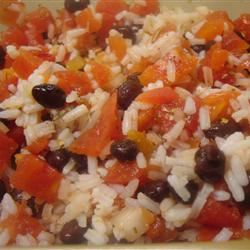Rice with Black Beans amandak23k
