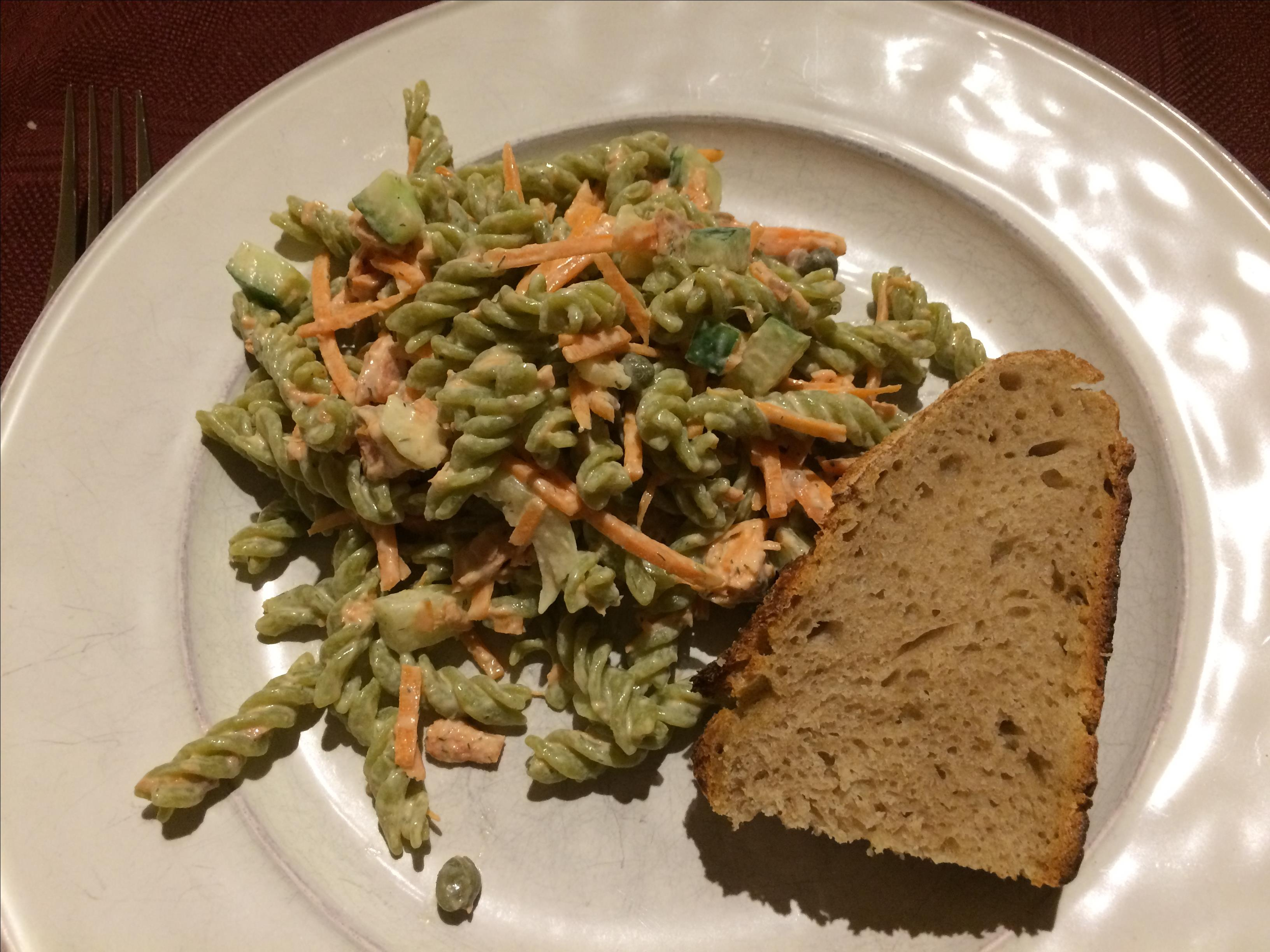 Smoked Salmon Pasta Salad