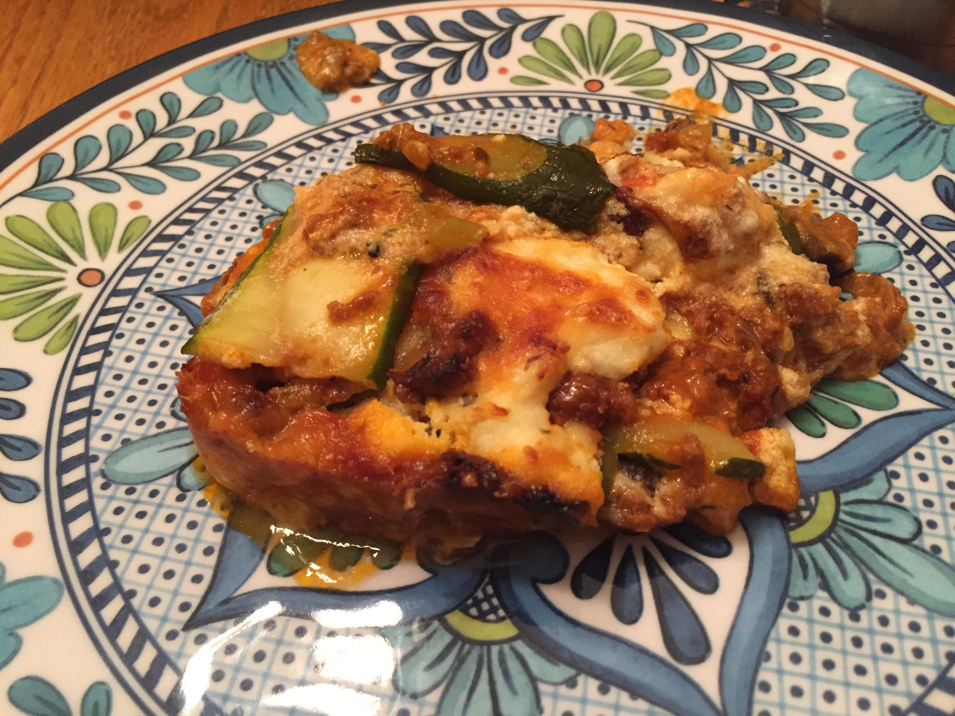 Lasagne Verdi al Forno Susan W.