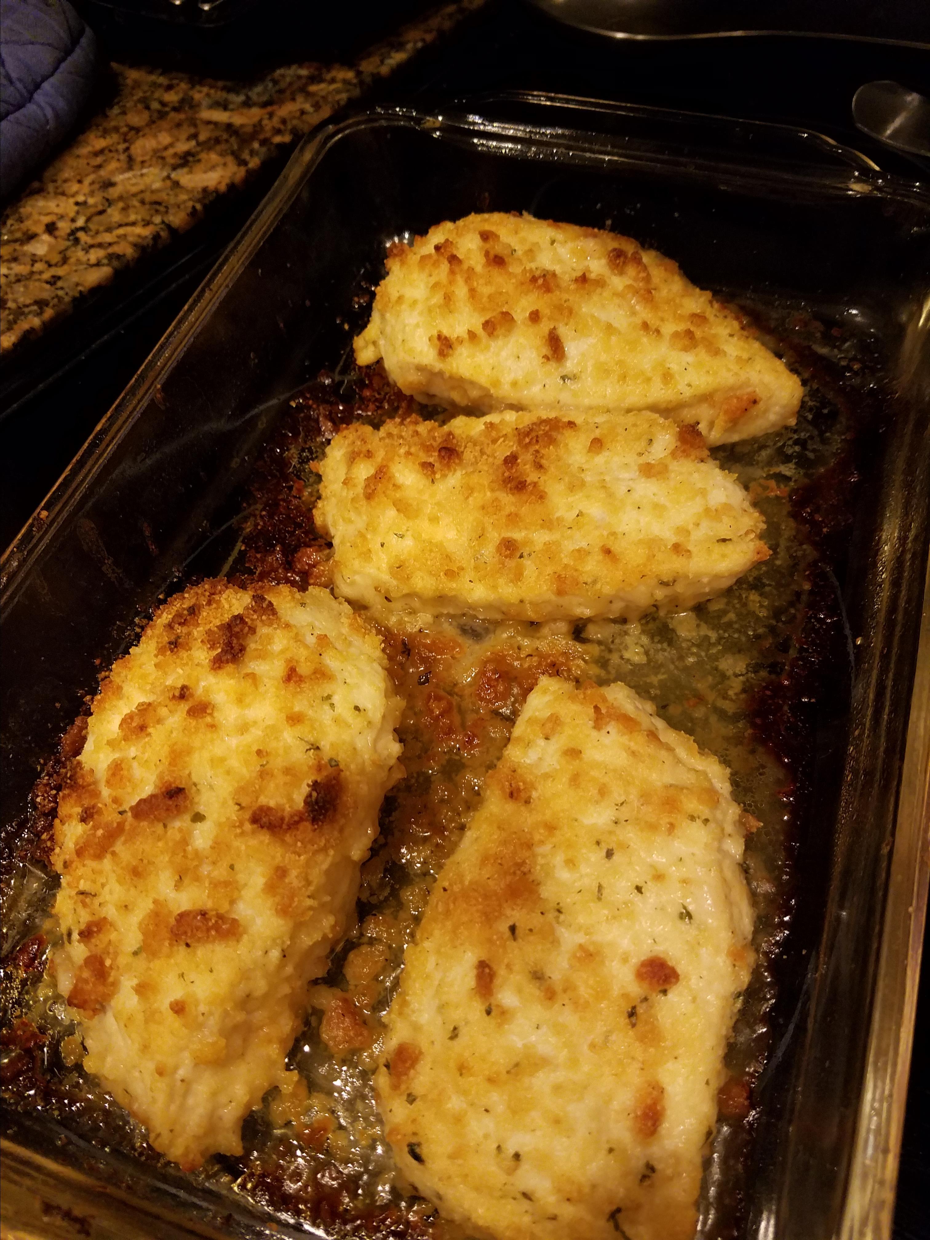 Breaded Parmesan Ranch Chicken elizabethcarlton