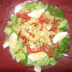 Grilled Chicken and Pasta Salad Shea24