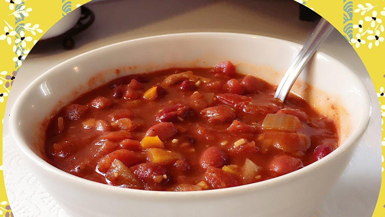 Low-Calorie Vegan Chili