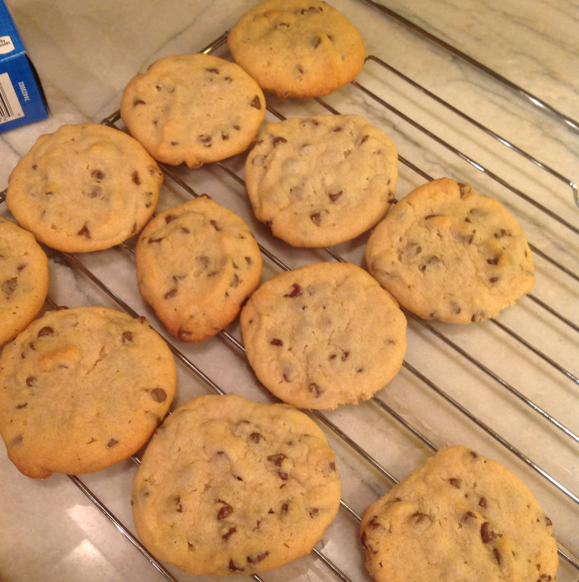 Light and Fluffy Chocolate Chip Cookies jenshep