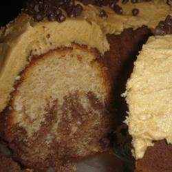 Chocolate Peanut Butter Marble Cake Sara S.