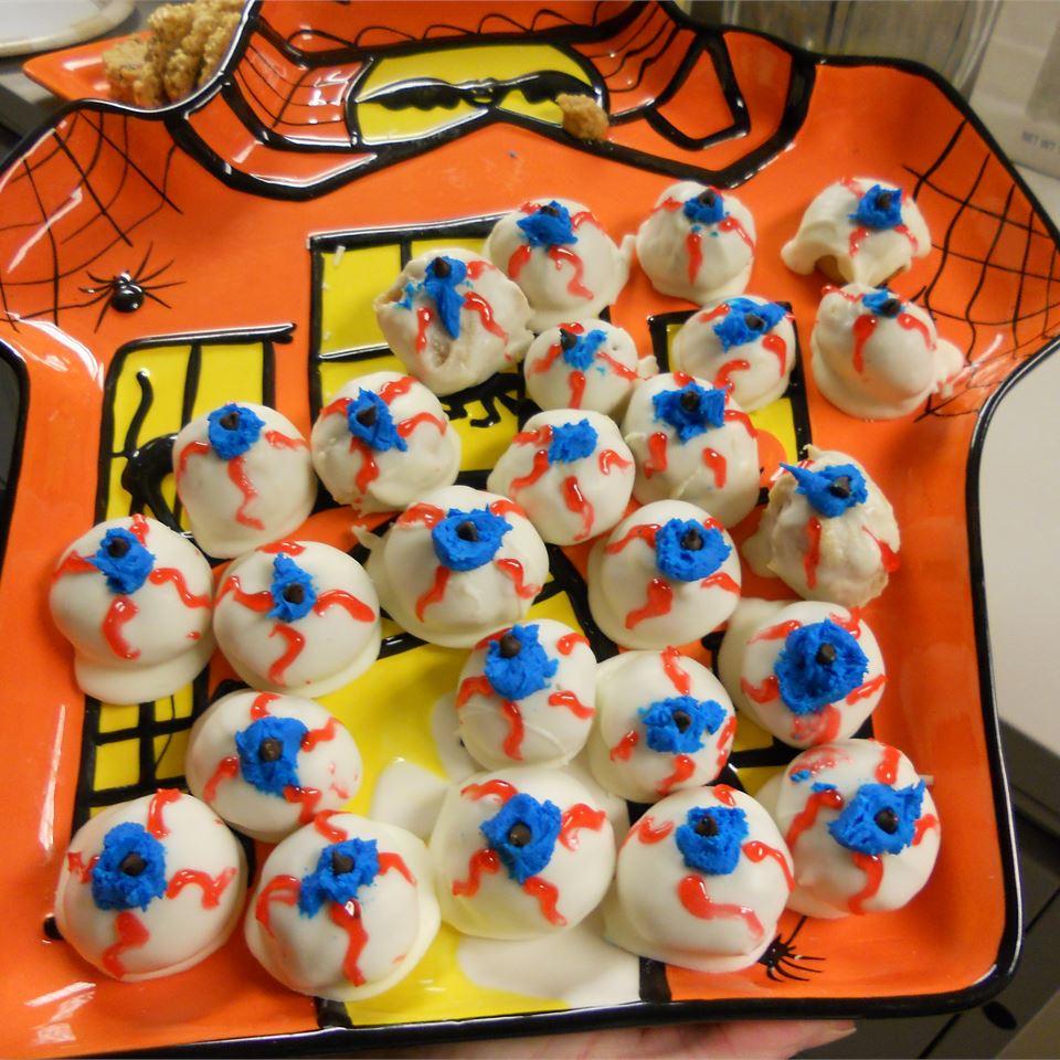 Spooky Halloween Eyeballs Chocaholic Oz