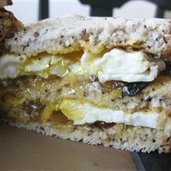 The Red Dwarf Sandwich