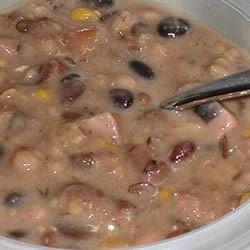 Sixteen Bean Sour Cream Soup Erimess
