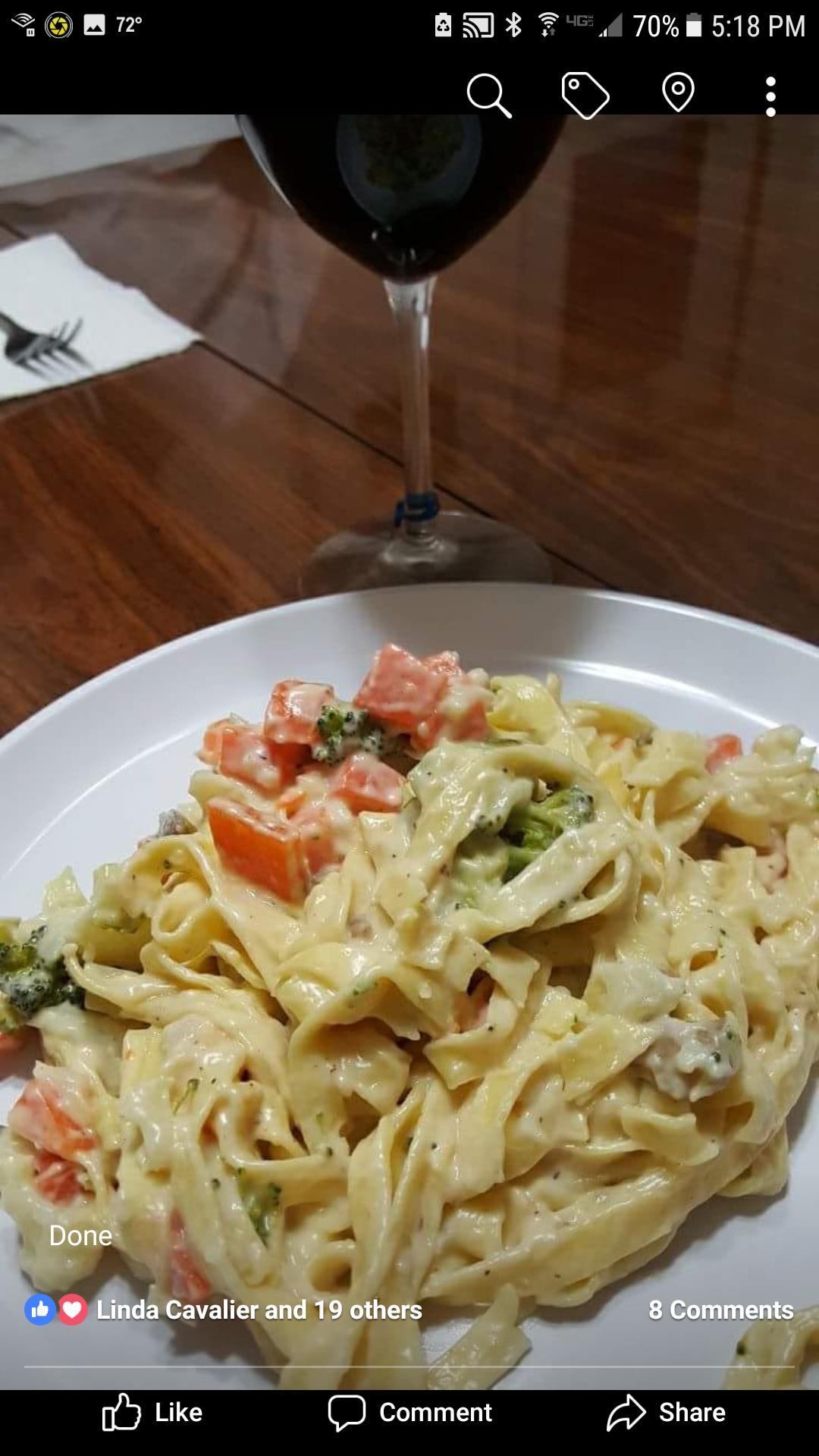Fettuccine Primavera from BUITONI grammykool