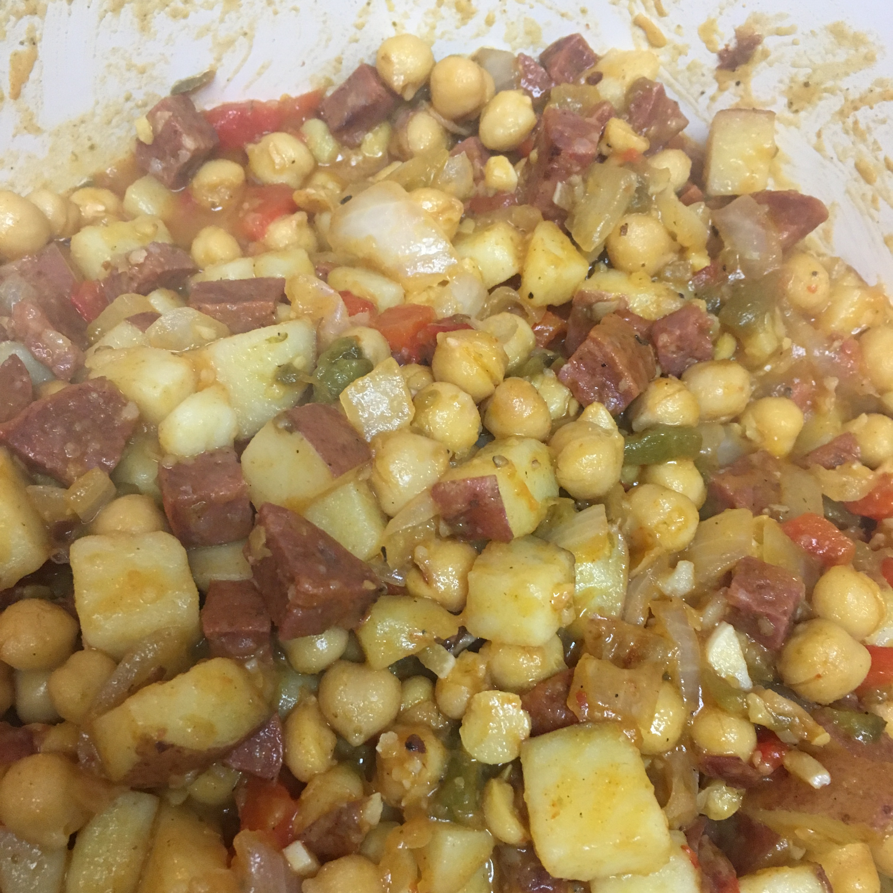 Chickpeas and Chorizo Ignacio Martin